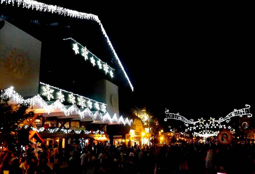 Natal Luz Gramado vila de natal