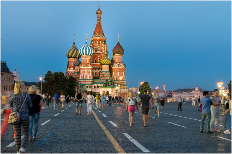 Cidade turistica em turismo na Rússia