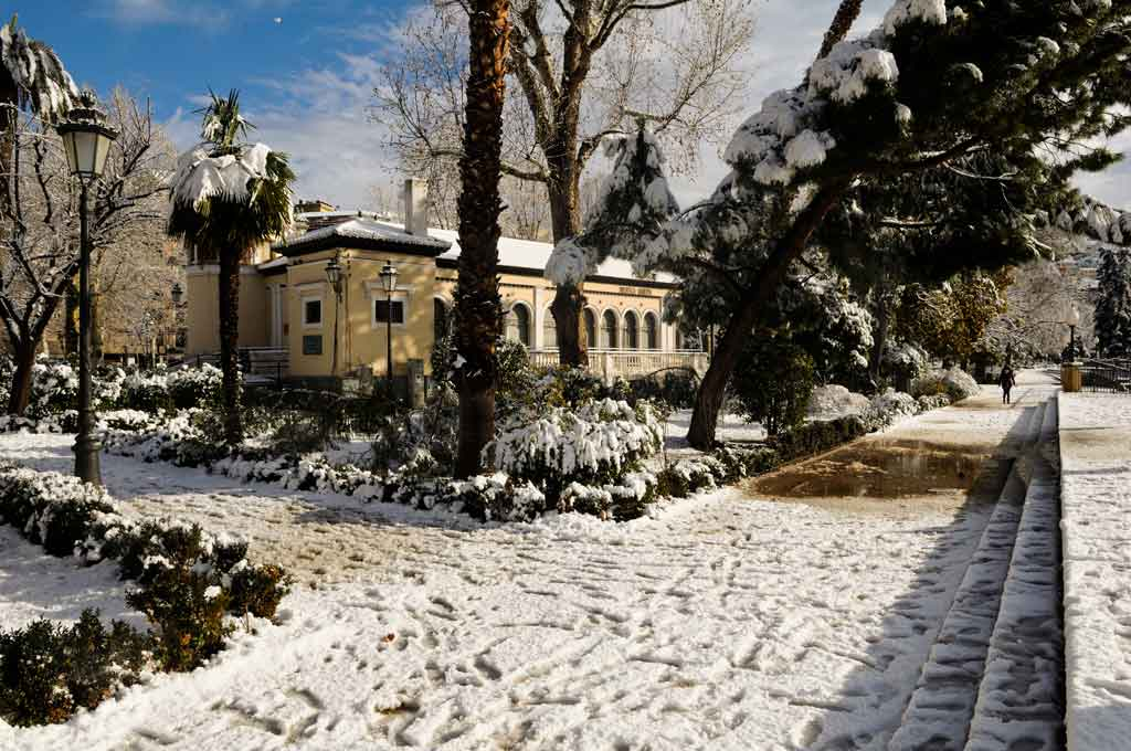 Inverno na Europa, Espanha