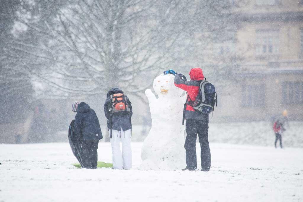 Inverno na Europa, Inglaterra