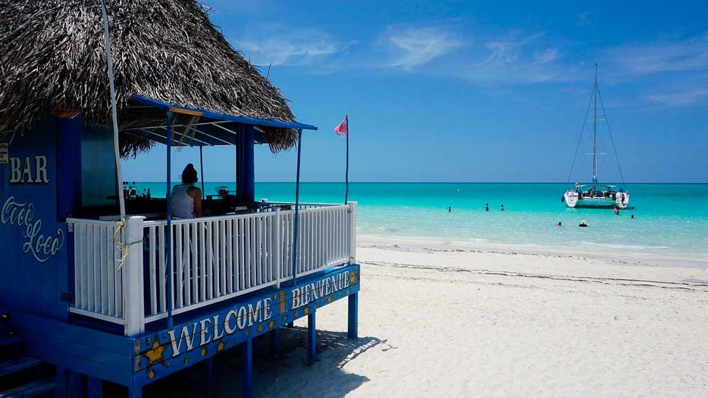 Praia em Cayo Coco
