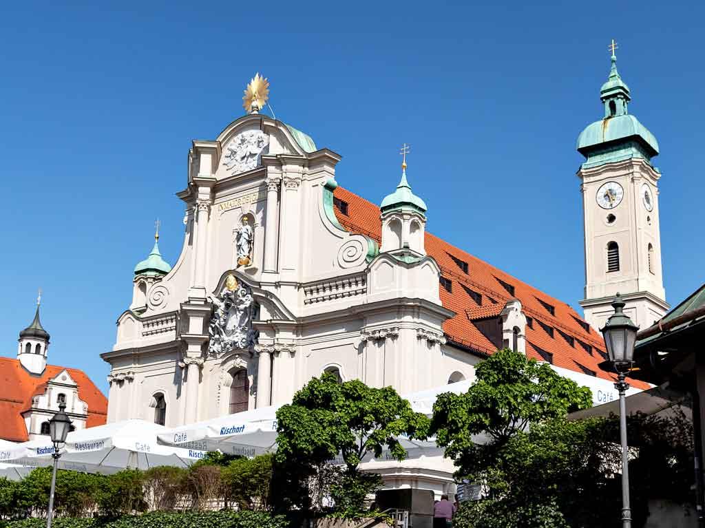 Igreja em Munique
