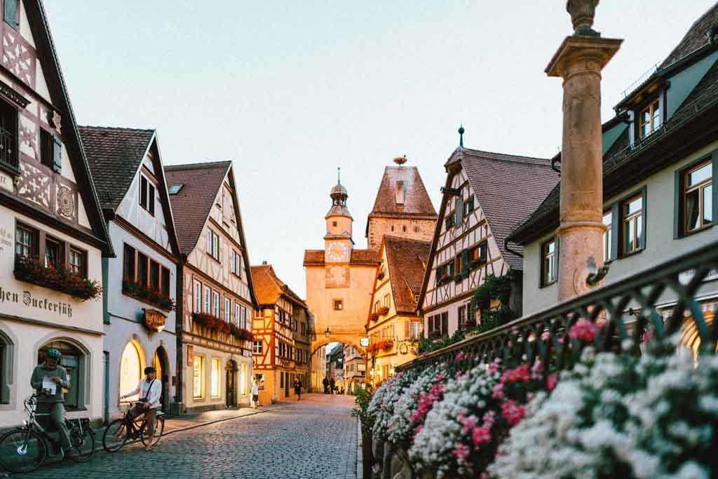 Foto da cidade de Rothenburg