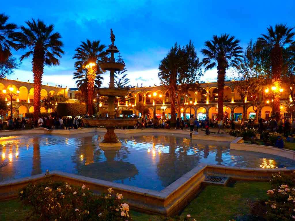 Foto da cidade de Arequipa