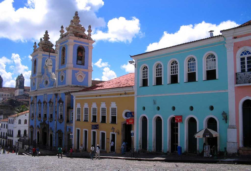 Foto do Pelourinho em Salvador