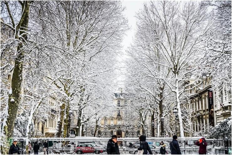 viagem com neve