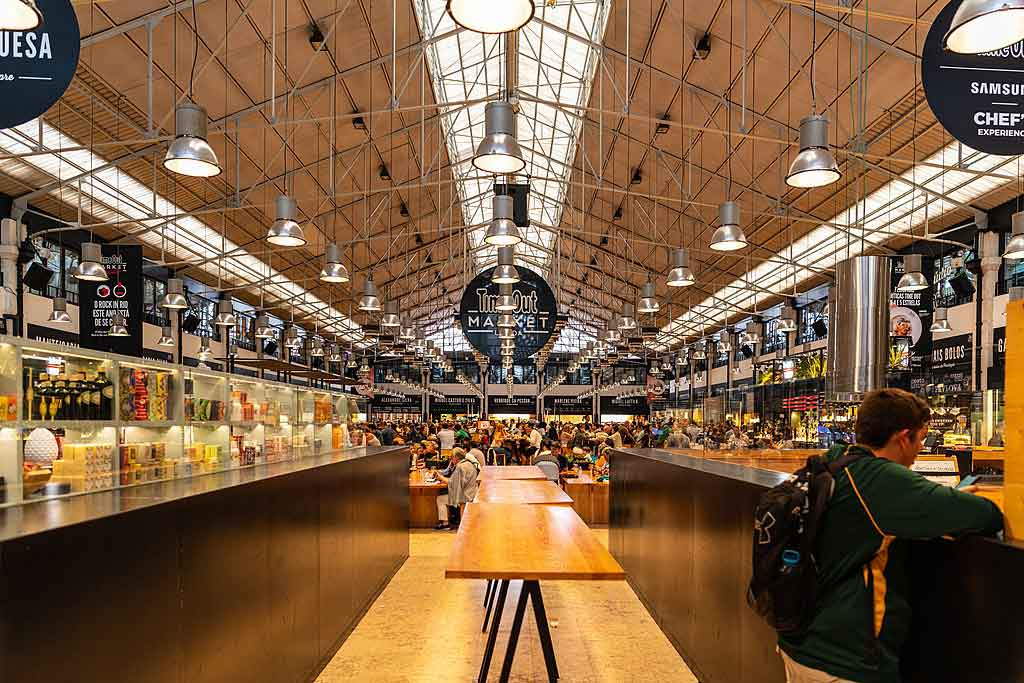 Foto do Mercado da Ribeira