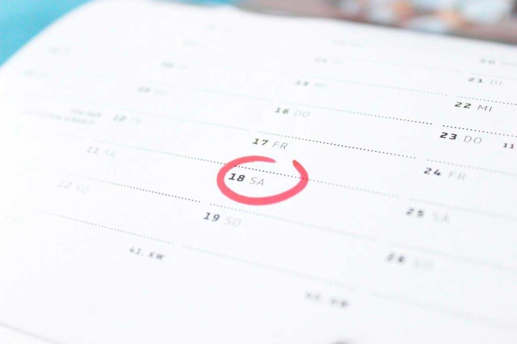 Roteiro de Viagem: decidir uma data