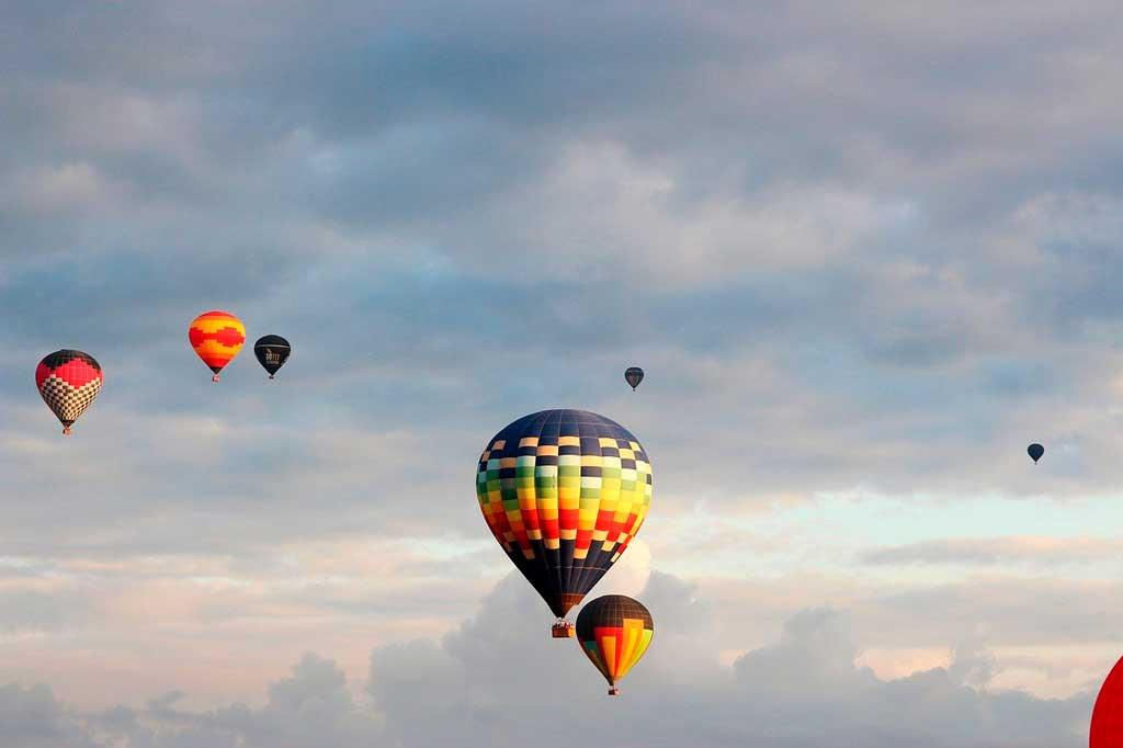 Balões em Boituva