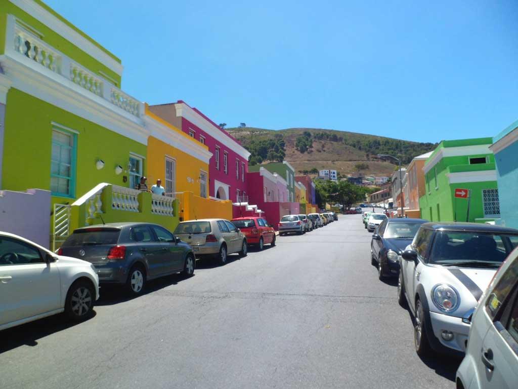 Rua na Cidade do Cabo