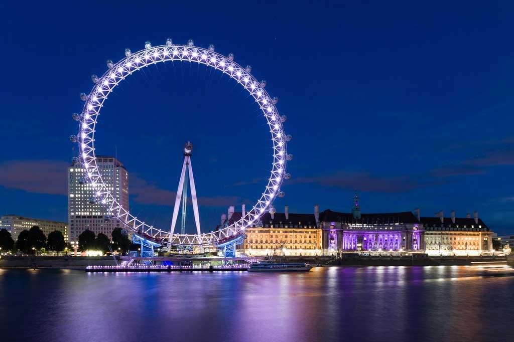 Foto do London Eye