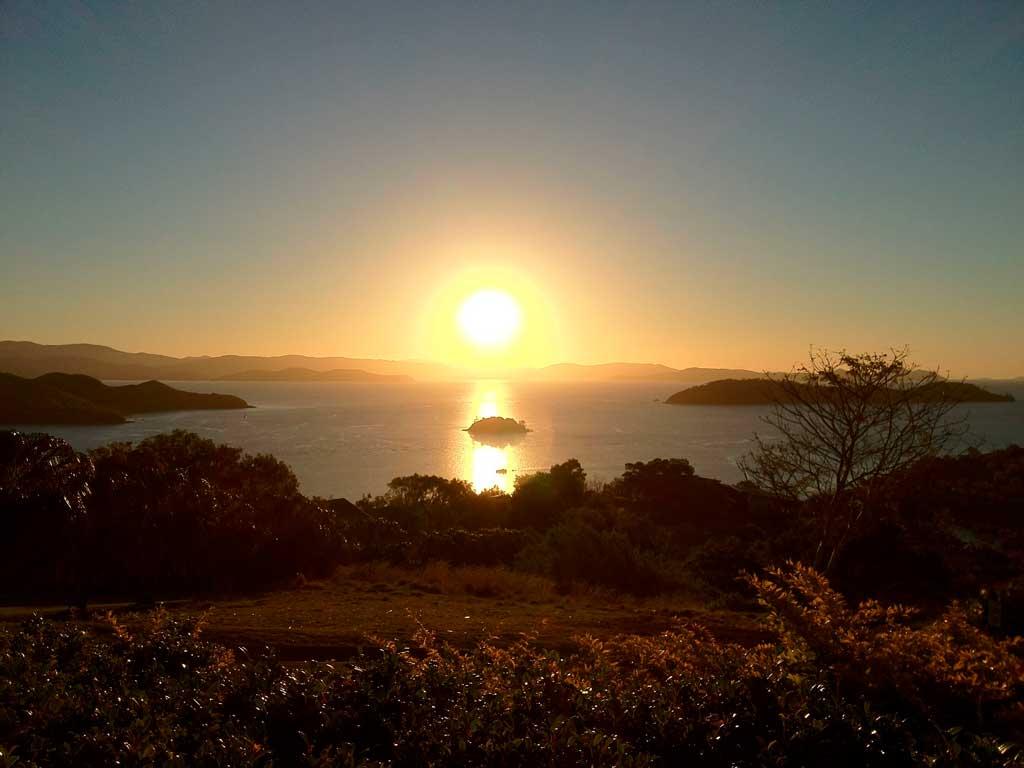 Pôr do sol em Hamilton Island