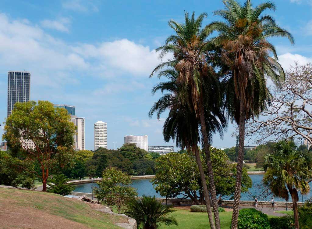 Parque em Sydney