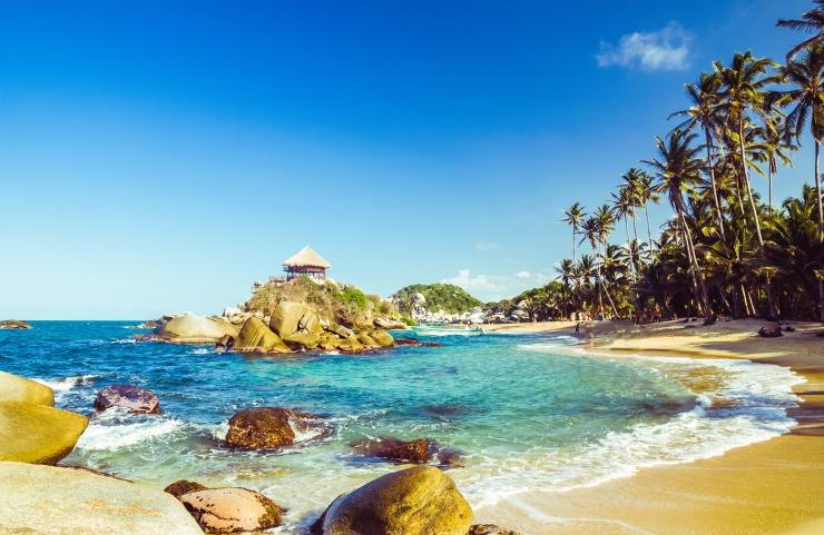 A 11 melhores praias na Colômbia