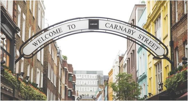 Roteiro Londres Carnaby Street