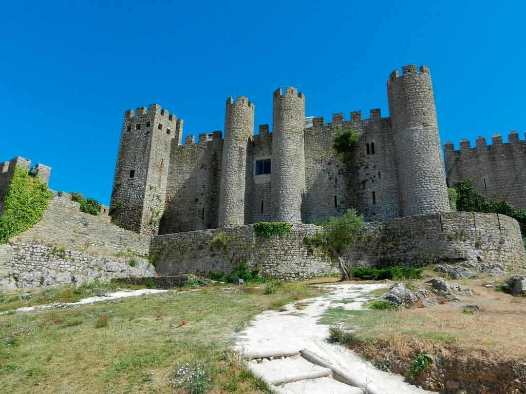 Castelo em Óbidos