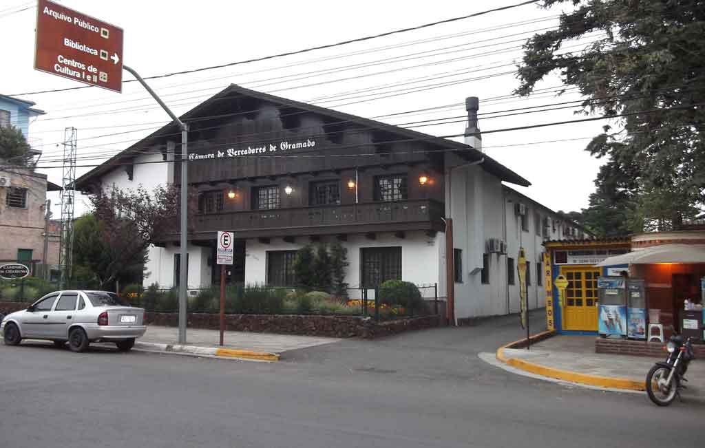 Lua de mel em Gramado: centro da cidade