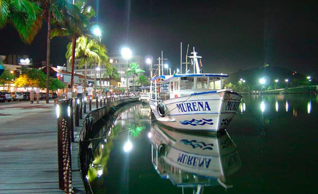 O que fazer em Cabo Frio à noite