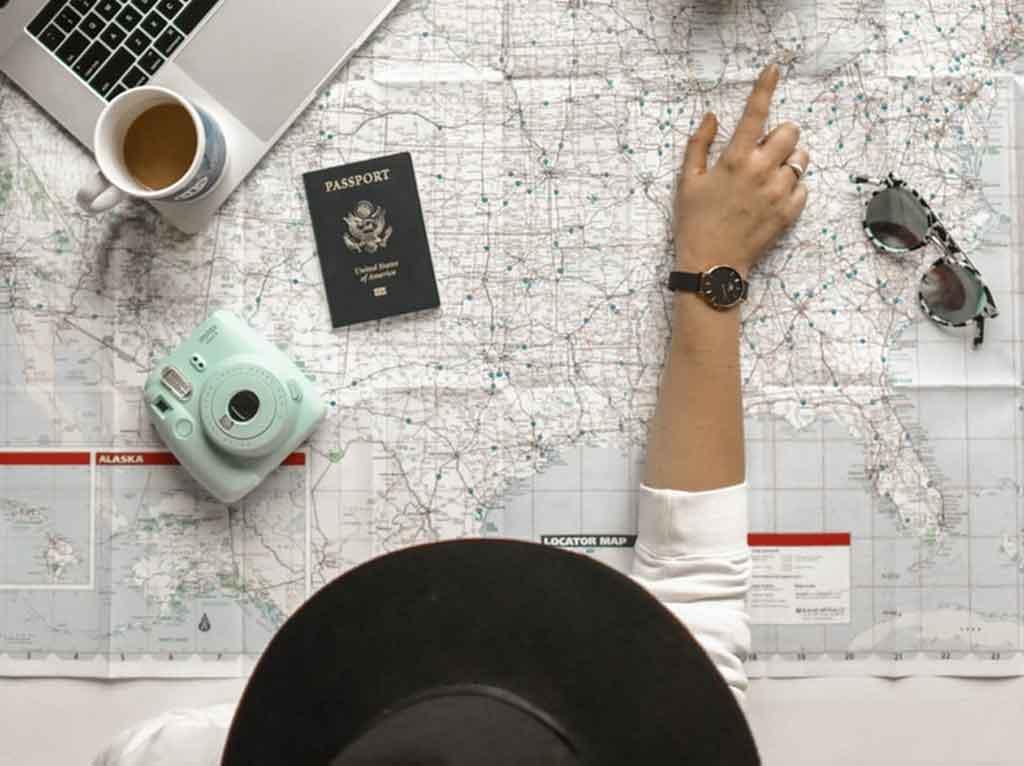 checklist de viagem: destino