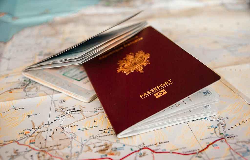 checklist de viagem: documentação
