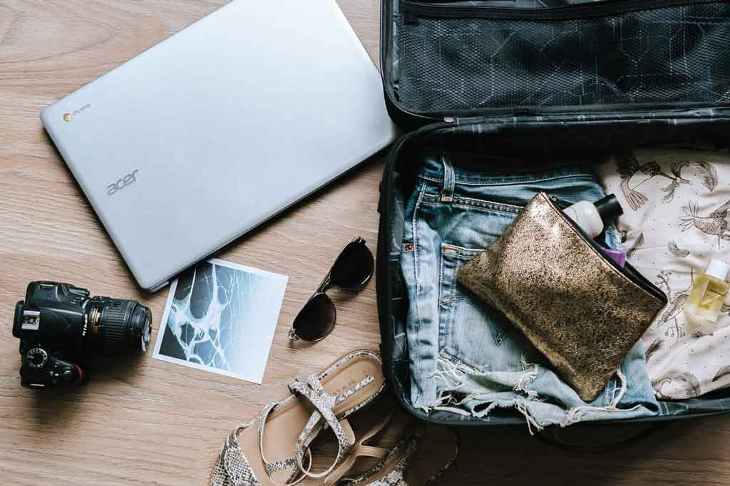 checklist de viagem: monte-sua-mala