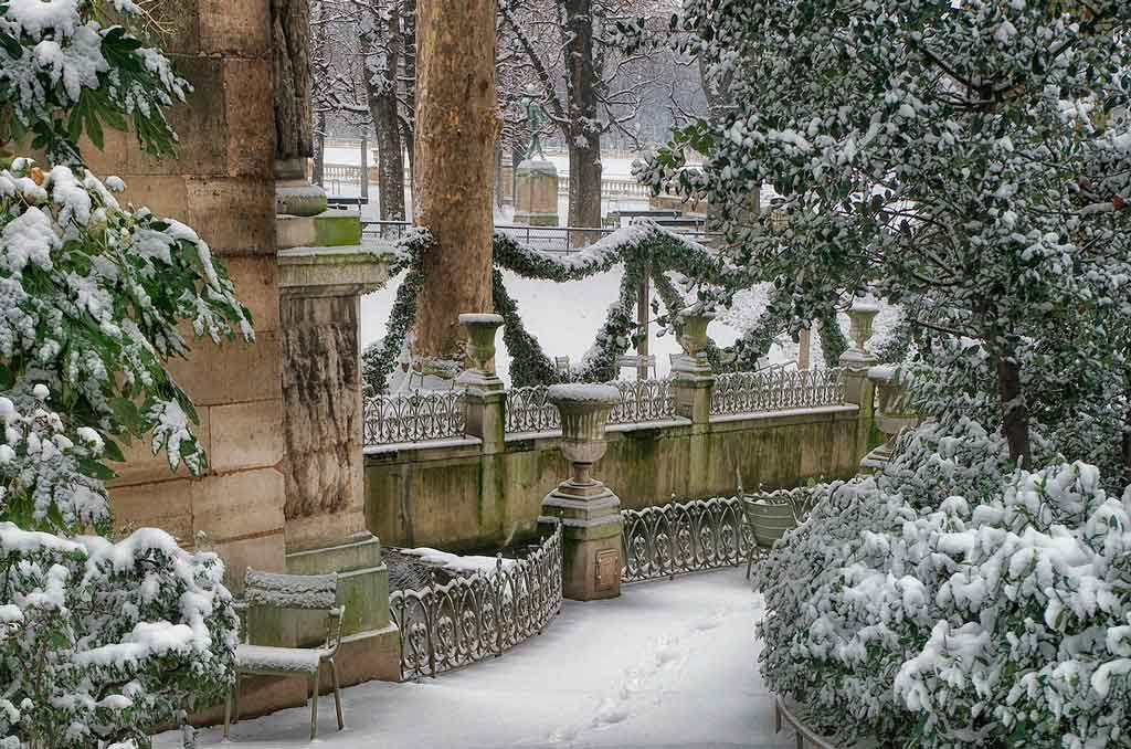 Conhecer os arredores de Paris no inverno