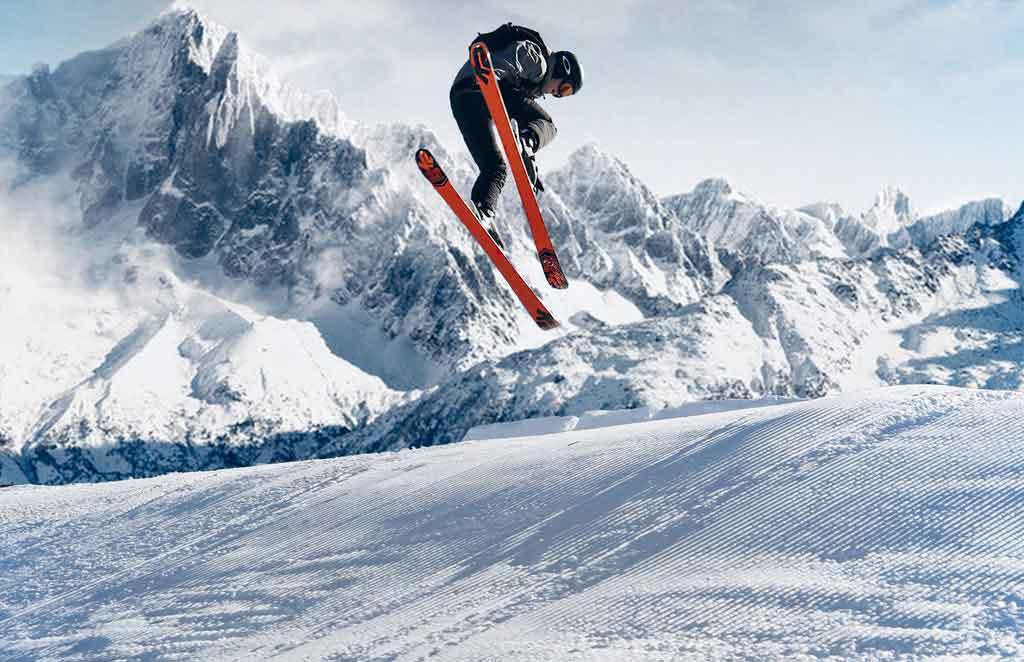 Esquiar no Inverno na Argentina