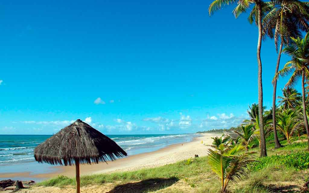 Lugares turísticos na Bahia pra relaxar