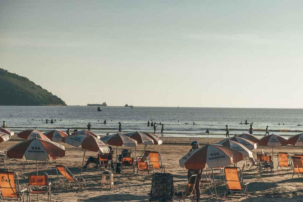 Melhor praia de São Paulo