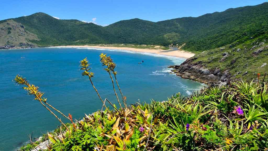Turismo em Santa Catarina: Praia Lagoinha