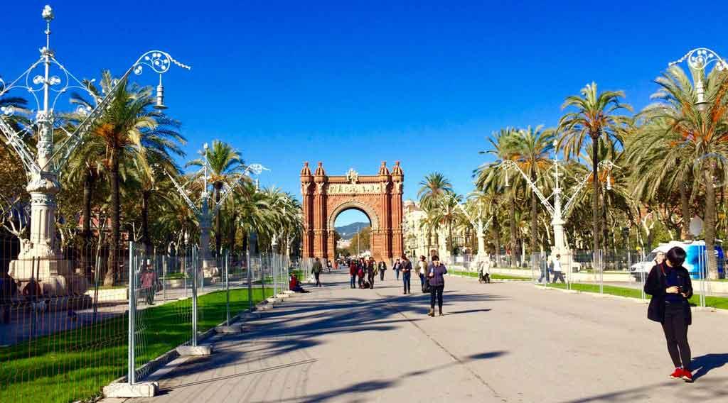 Outono na Europa: Barcelona