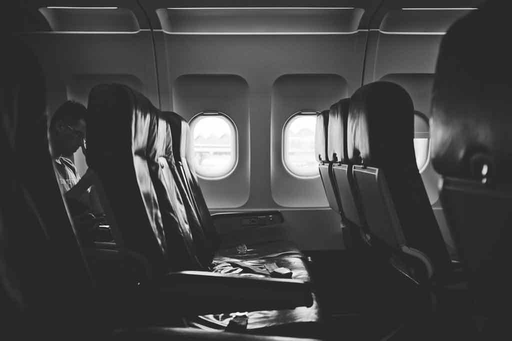 Tipos de assento de avião