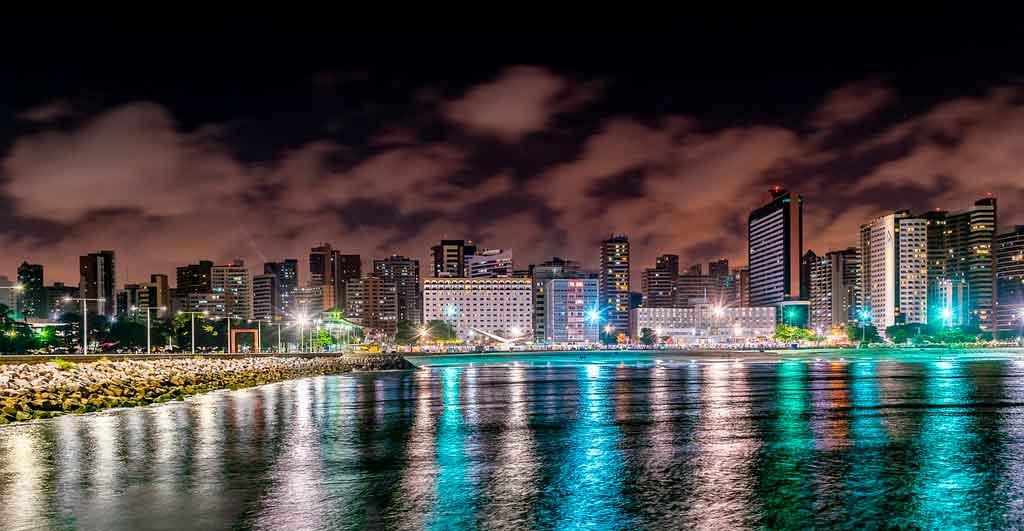 O que fazer em Fortaleza a noite