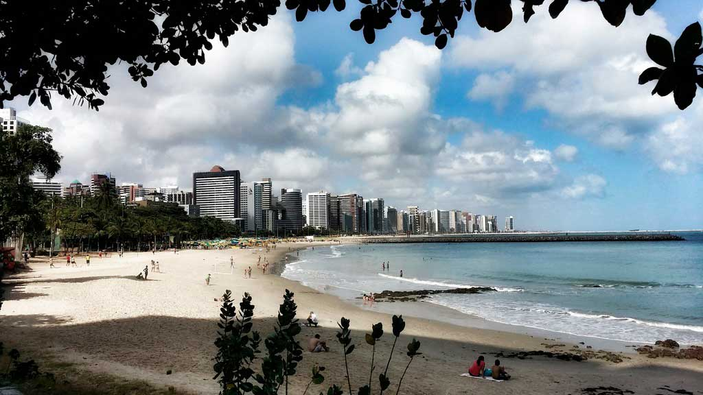 Pontos Turísticos de Fortaleza Praia Iracema