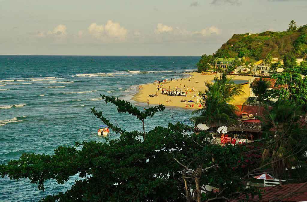 Lugares paradisíacos na Praia da Pipa