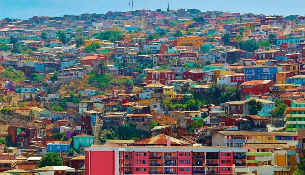 Arte e belezas naturais de Valparaíso