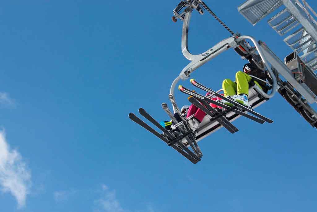Alpes suiços onde esquiar