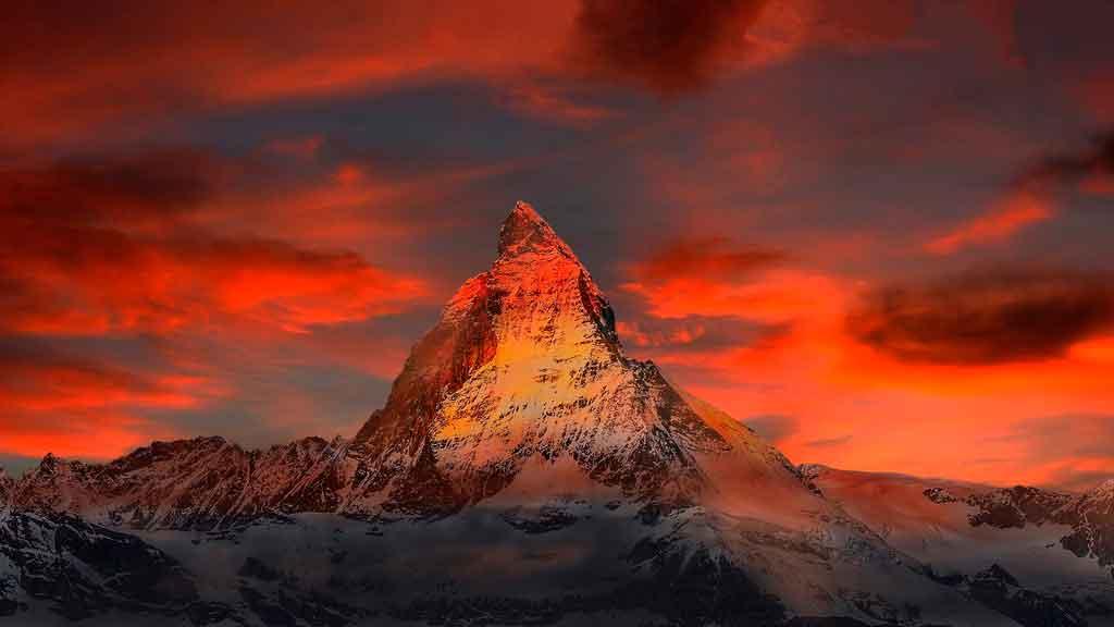 Alpes Suiços Qual a cidade mais linda