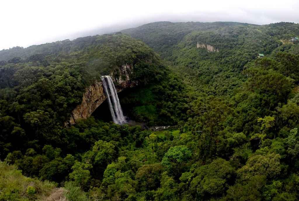 Cachoeiras do Brasil no Sul
