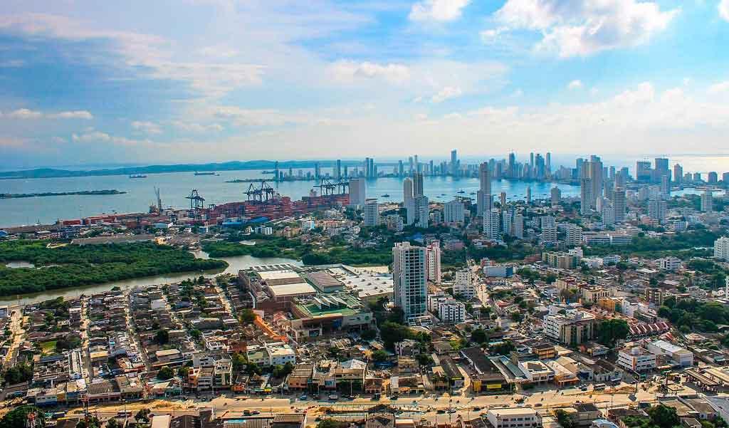 Onde fica Cartagena das Índias