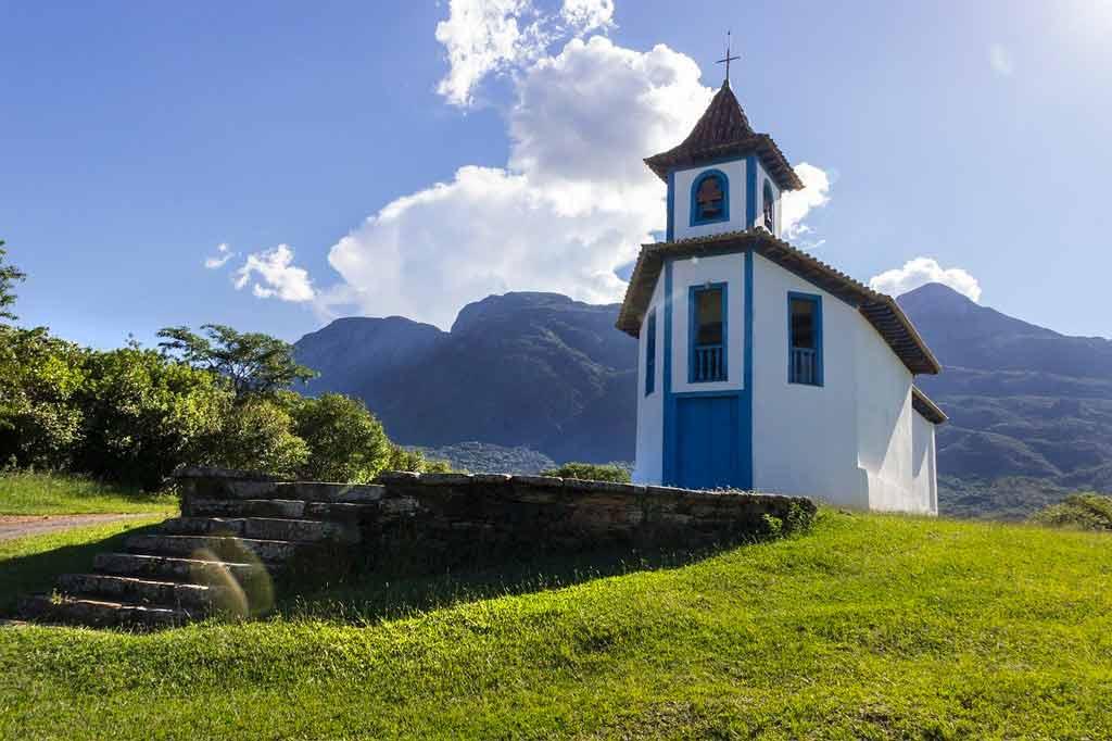 Cidades turísticas de Minas Gerais no interior