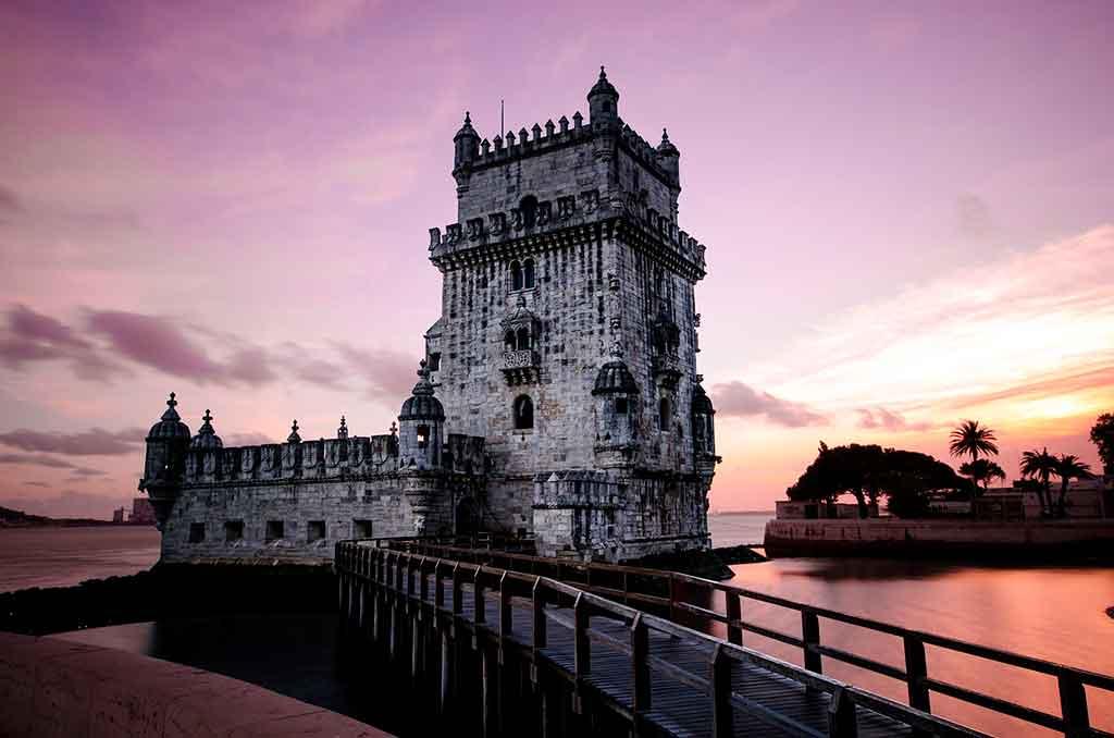 Porto, Portugal, à noite