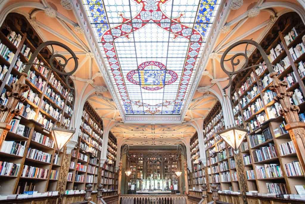 Porto, Portugal: Livraria Lello
