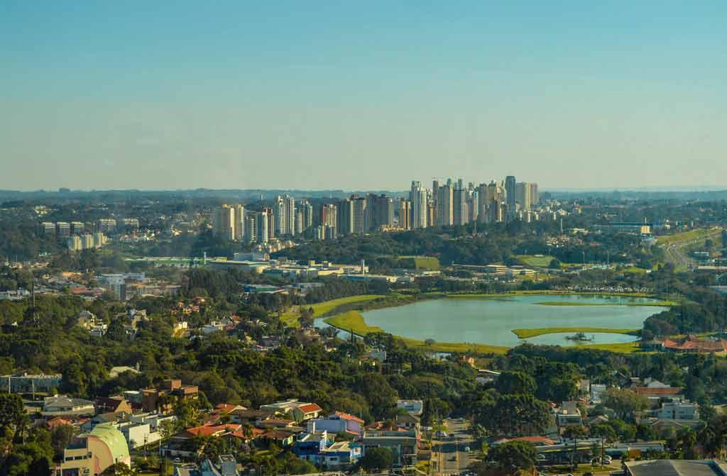 Onde levar turistas em Curitiba