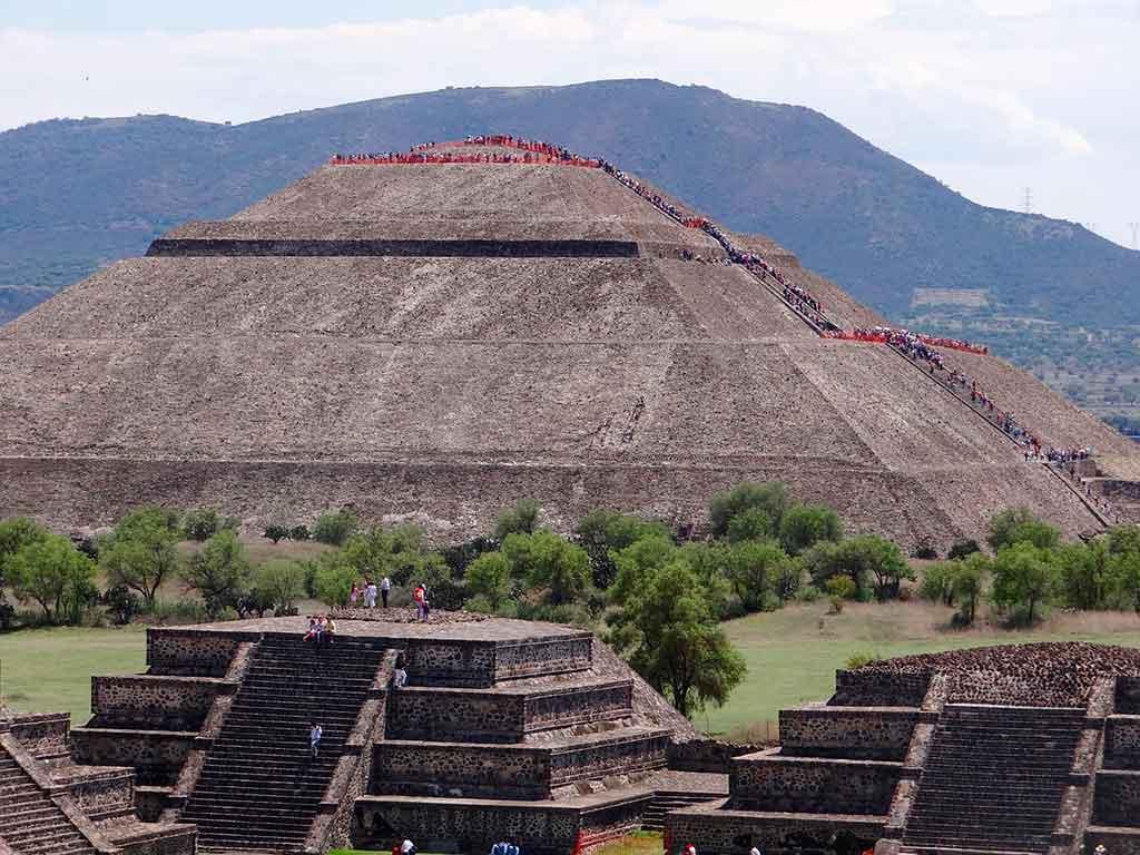Ruínas de Teotihuacán