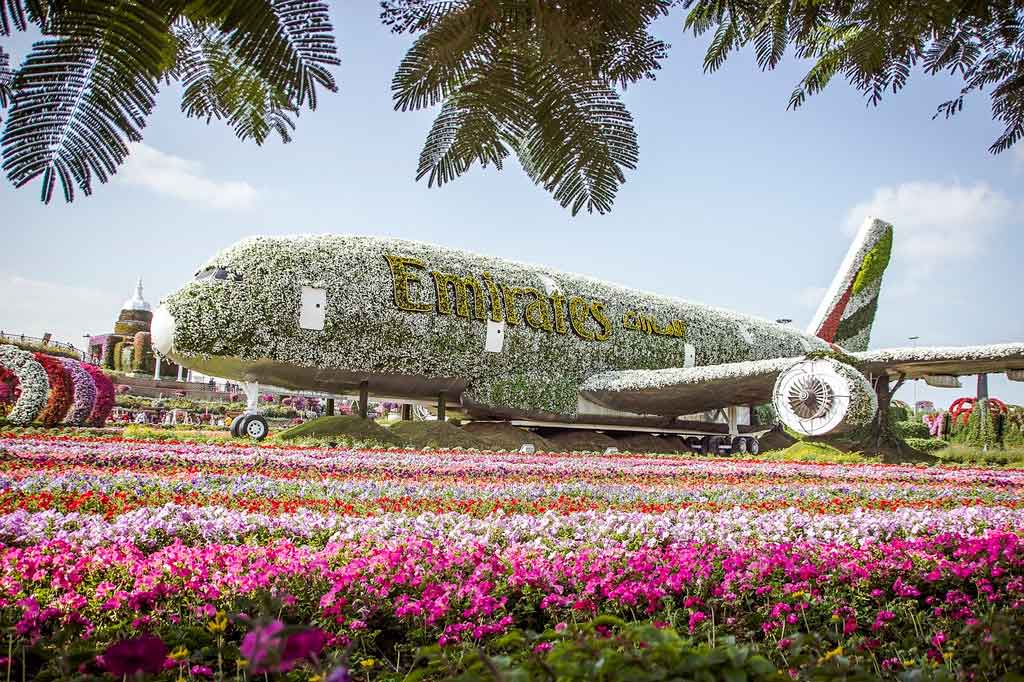 Passeios em Dubai Miracle garden