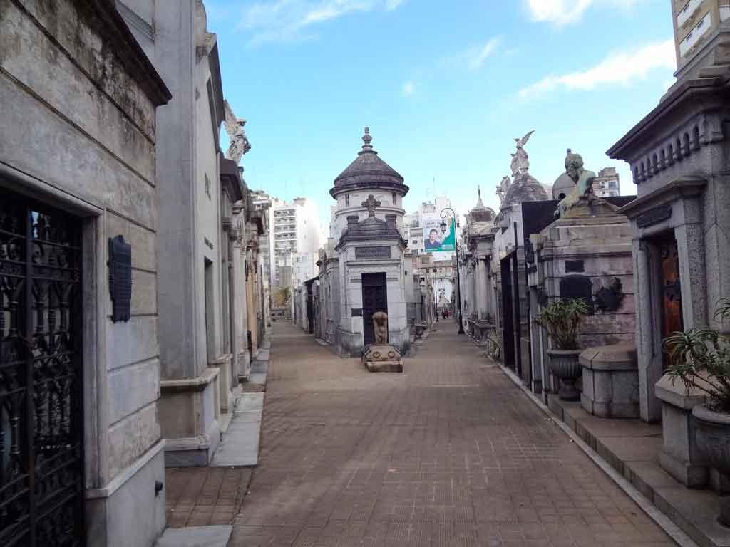 Turismo em Buenos Aires Cemitério La Recoleta