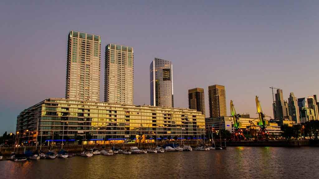 Turismo em Buenos Aires Puerto Madero