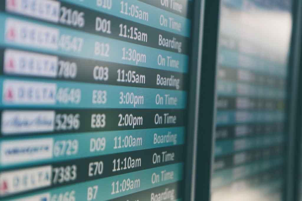Viagens corporativas compras e reservas