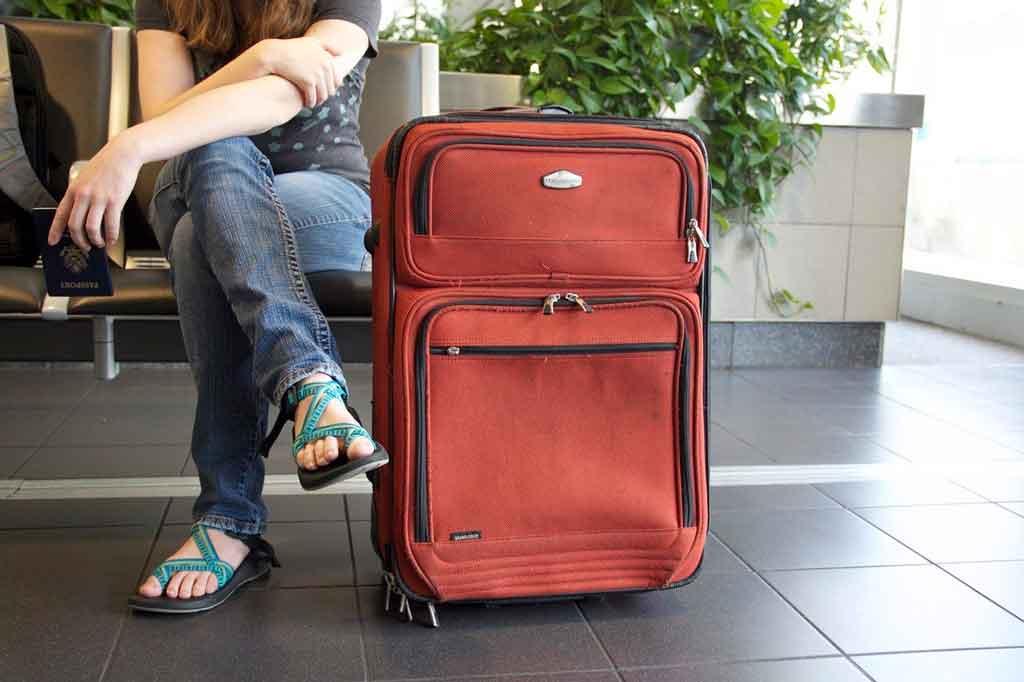 Como organizar uma mala de viagem a trabalho roupas confortáveis